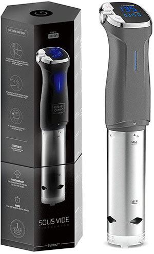 Kitchen Gizmo Sous Vide Cooker Immersion Circulator