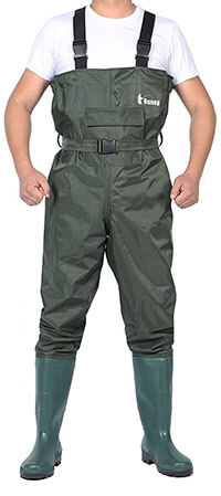 Ouzong Chest Waders Bootfoot
