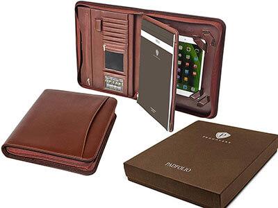 Prodovere Professional Leather Business Resume Portfolio/Padfolio