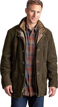 Overland Highlands II Northern Sheepskin Coat, Merino Shearling