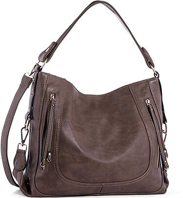 UTAKE Leather Shoulder Bag Women's