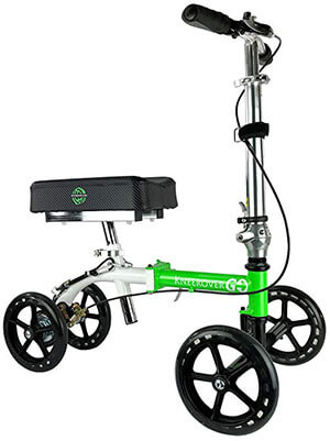 NEW Knee Rover GO Knee Walker - Crutches Alternative