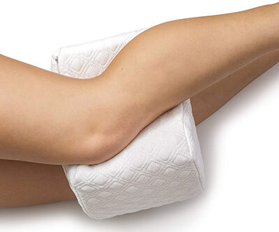 AERIS Knee Cushion Memory foam Pillow for Side Sleepers