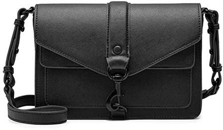 Zhanxianpiju New Envelope Mini Cross-Body Leather Shoulder Bag Womens
