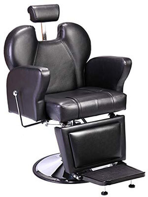 JAXPETY Salon/Barber Chair-with Powerful Hydraulic Pump