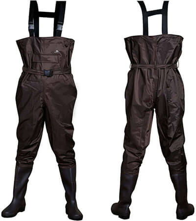 BESTHUNTINER Chest Waders Boot Nylon/PVC Waders