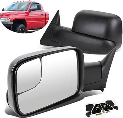 SCITOO Towing Mirror with Mounting Brackets