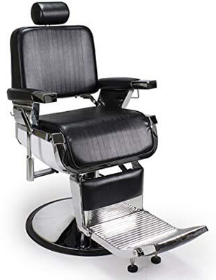 Artist Hand Heavy-Duty Barber Chair Shampoo 360-Degree Recline Salon Chair