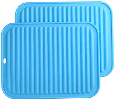 Smithcraft Big Silicone Trivets Mat Set of 2