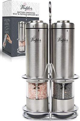 Flafster Kitchen Salt and Pepper Grinder Set