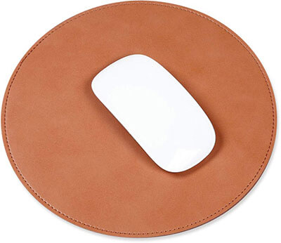 ProElife Home/Office Rounded Premium PU Leather mouse