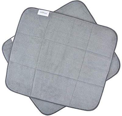 KinHwa Microfiber Countertop Absorbent Dish Pad