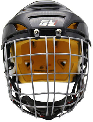 GY 2017 Perfect Version Ice Hockey Helmet Steel Mask
