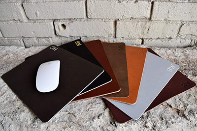Northwind Supply Leather Mousepad- Custom Mousepad