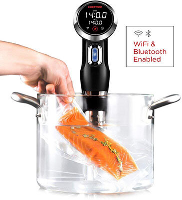 Chefman Sous Vide Immersion Circulator with Wi-Fi and Bluetooth