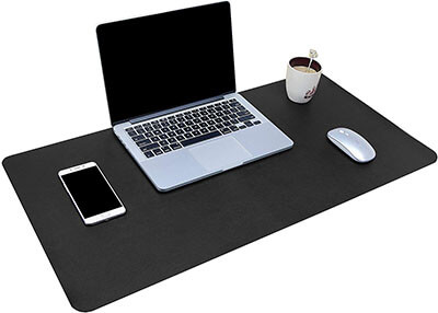 YSAGi Ultra-Thin Waterproof Mouse Pad- PU Leather