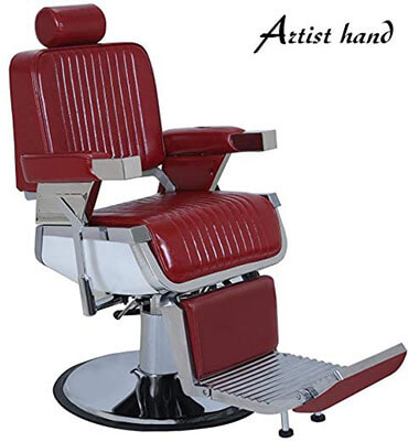 Artist Hand Barber Chair