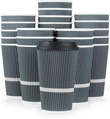 Glowcoast Disposable Coffee Cups