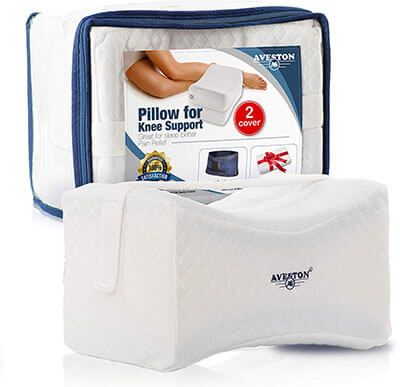 AVESTON Side Sleeper Knee Pain Pillow