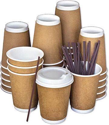 LB LIVING BALANCE Disposable Coffee Cup