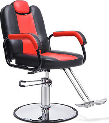 Merax Reclining Barber shop chair