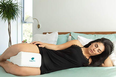 Cushy Foam Sciatic Nerve Pain relief memory foam pillow