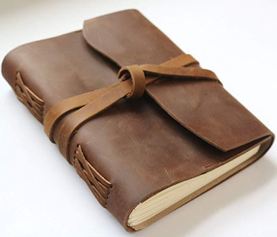 Harpeth Trading Handmade Leather Book