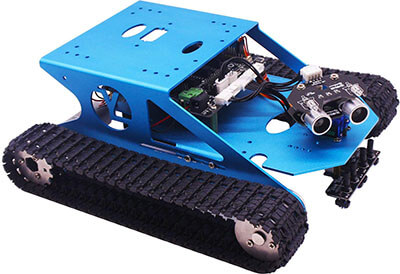 Yahboom Programmable Smart Tank Track Robot Kit