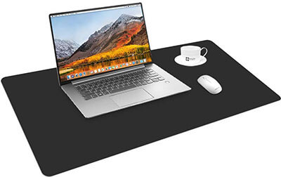 Cehomi Desk Pad Mouse Pad, Ultra-Thin PU Leather, Waterproof