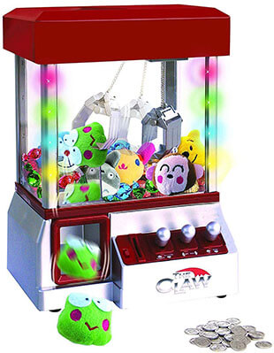 Etna the Claw Toy Grabber Machine with Sounds and Lights