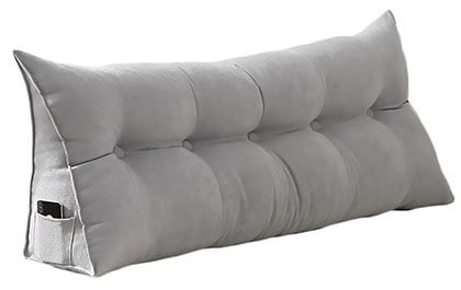 VERCART Sofa Bed Large Soft Upholstered- Headboard Filled Wedge Cushion
