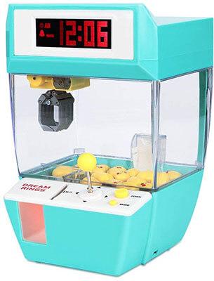 Toyk Mini Alarm Clock Candy Claw Machines Toy Claw Machine for Kids