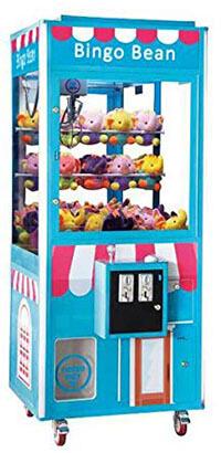 "Bingo Bean Commercial Grade Prime Arcades- Prize Crane Machine 75"" Height"
