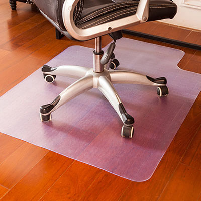 Mysuntown Office Chair Mat Floor Protector for Gaming and Office Desks