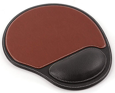 EASYDOO Mouse Pad Leather Comfortable Gaming Mouse Mat
