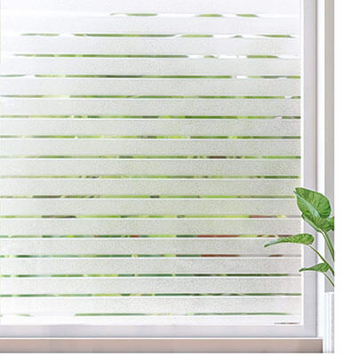 Rabbitgoo Window Film Static Cling Frosted