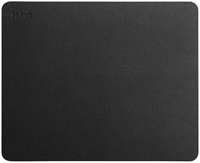Nekmit Leather Mouse Pad with Non-slip Base and Waterproof Coating