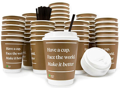 Inspirational Paper Coffee Cups