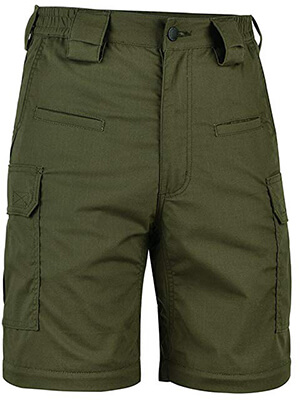 HARD LAND Men's 10 Inches Cargo Work Shorts