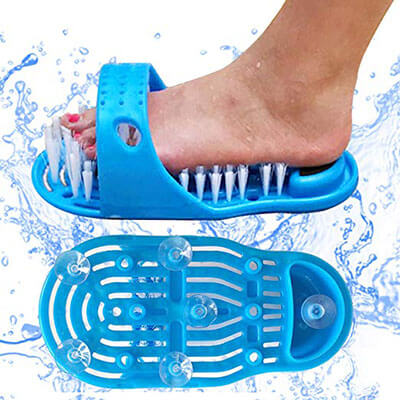 Zelka Shower Foot Scrubber