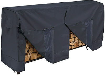 Classic Accessories Black 52-069-030401-00 Log Rack Cover