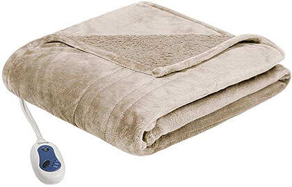 Beautyrest - Plush Heated Throw Blanket