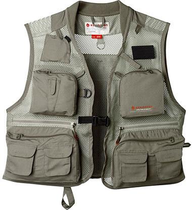 Redington First Run Fishing Vest, Grit