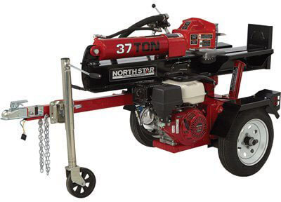 NorthStar Deluxe Horizontal/Vertical 37 Ton Log Splitter