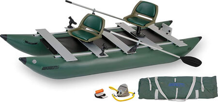 Sea Eagle FoldCat Inflatable Fishing Boat