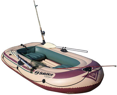 Swimline Solstice Voyager Inflatable Fishing Boat