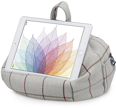 iBeani iPad Pillow & Tablet Stand for Any Size Tablet, eReader or Book Up to 12.9''