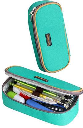 Homecube Pencil Case, Big Capacity Green