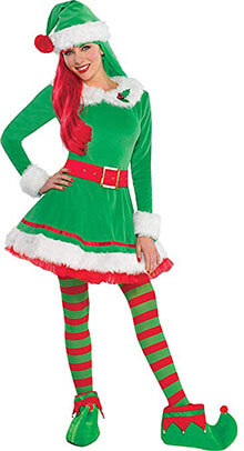 Amscan Adult Elf Costume