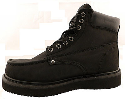 Vanlly Shoes Moc Toe Roofing Work Boots